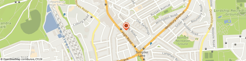 Route/map/directions to JD Sports, N22 6HL Wood Green, 74 High Street