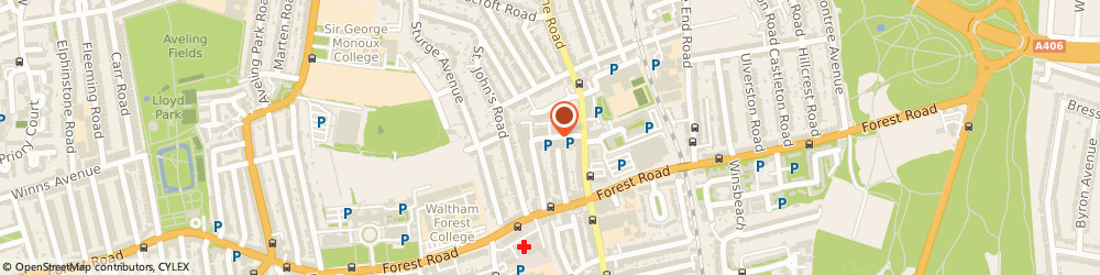 Route/map/directions to Ecouture, E17 4SX London, Clifford Rd, Unit 24