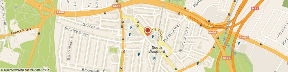 Route/map/directions to Abbotts Travel, E18 1BA London, 134 George Ln