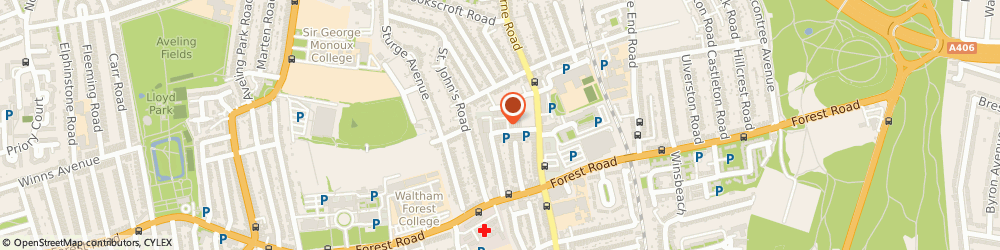 Route/map/directions to Early Riser Disco Centre, E17 4SX London, 18, Clifford Rd, Walthamstow Business Centre