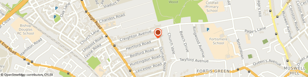 Route/map/directions to Handycraft Building Services, N2 9BU London, 102B Hertford Rd