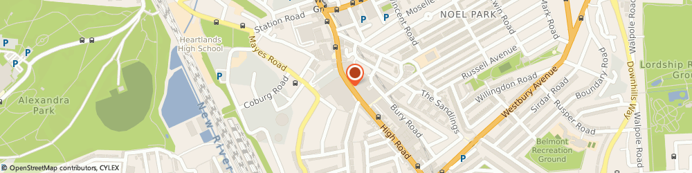 Route/map/directions to Lloyds Bank, N22 6EF London, Units 22-24
