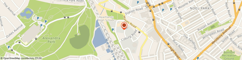 Route/map/directions to John Charles - Mother Of The Bride Outfits, N22 6XG London, 1 Guillemot Place, Clarendon Rd