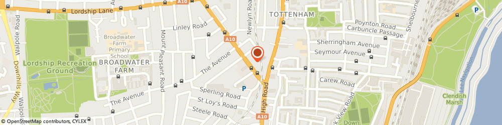 Route/map/directions to Regency Banqueting Suite, N17 6UR London, 113 Bruce Grove
