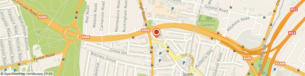 Route/map/directions to Pronuptia Bridal, E18 2NA London, 86 HIGH ROAD