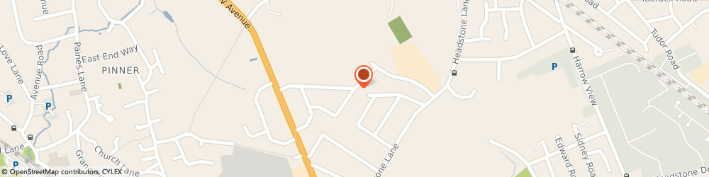 Route/map/directions to Pinner Locksmiths, HA5 5SL Pinner, Greystoke Avenue