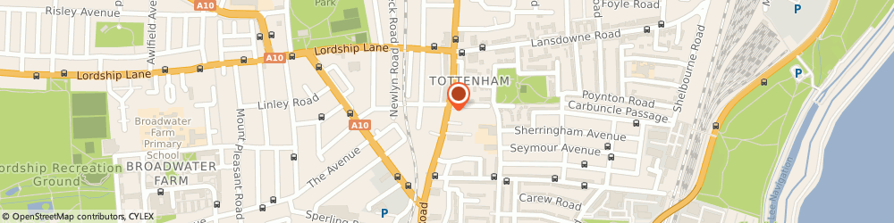 Route/map/directions to AUDIO LOCKDOWN LTD, E10 6PY London, 597 HIGH ROAD