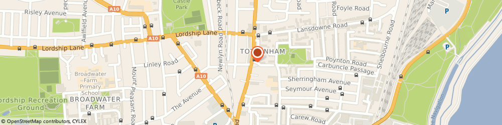 Route/map/directions to Car Stereos 4u, E10 6RF London, 605 High Road