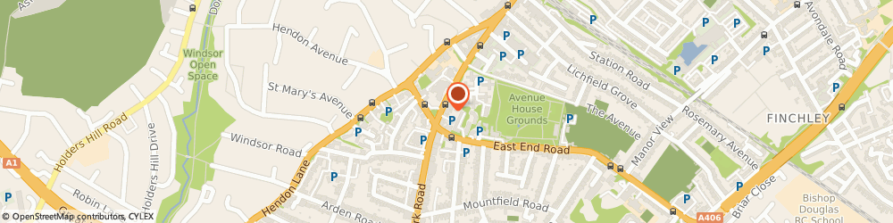 Route/map/directions to Goodwood Fencing & Co, N3 3HN London, SPENCER COURTYARD, REAR OF 266 REGENTS PK ROAD
