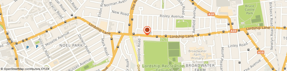 Route/map/directions to Adg Lettings Ltd, N17 6AE London, 393 LORDSHIP LANE