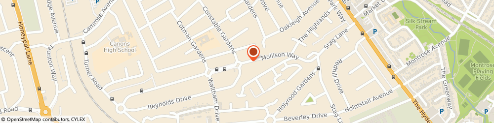 Route/map/directions to Automatic & Manual Driving School, HA8 5QS Edgware, 61 MOLLISON WAY