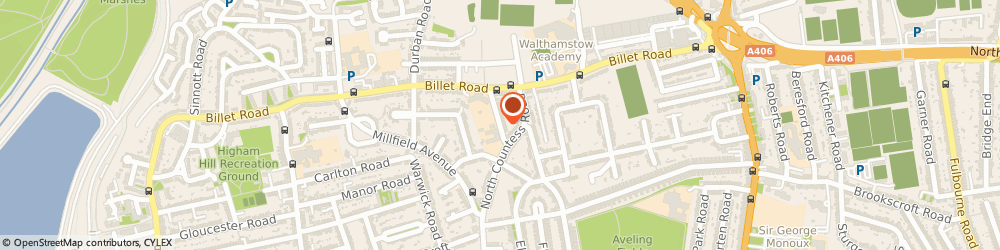 Route/map/directions to P J Music, E17 5HU London, 22 WIGTON ROAD