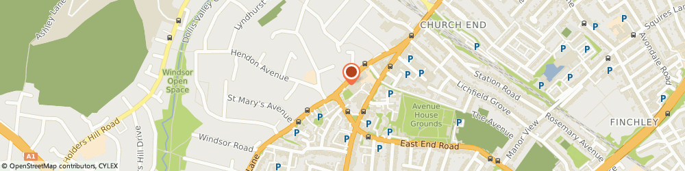 Route/map/directions to Garment Care Centre, N3 1TT London, 48A HENDON LANE