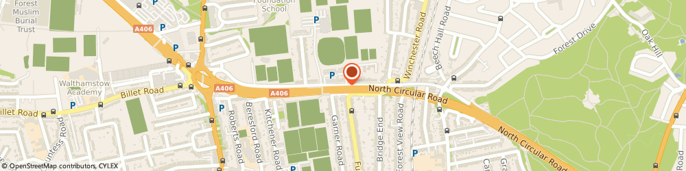 Route/map/directions to Mastertech, E17 4HU London, 157 WADHAM RD