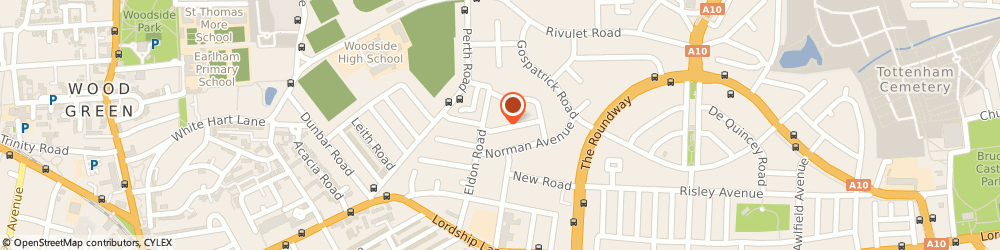 Route/map/directions to Cps Cleaning Ltd, N22 5EL London, 8 Homecroft Road