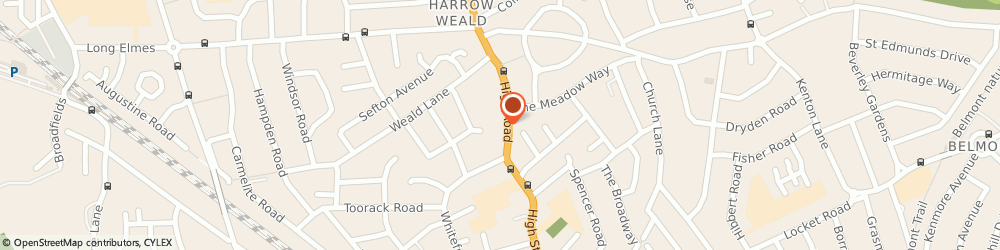 Route/map/directions to Ddv Consulting Ltd, HA3 5EE Harrow, 235 HIGH ROAD