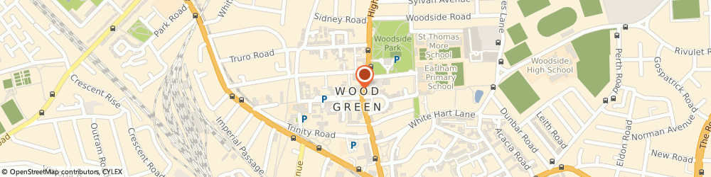 Route/map/directions to Silhouette U K Ltd, N22 8GZ London, 333 HIGH ROAD, WOODGREEN