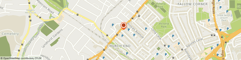 Route/map/directions to Locksmith Finchley, N3 2DN London, Ballards Ln
