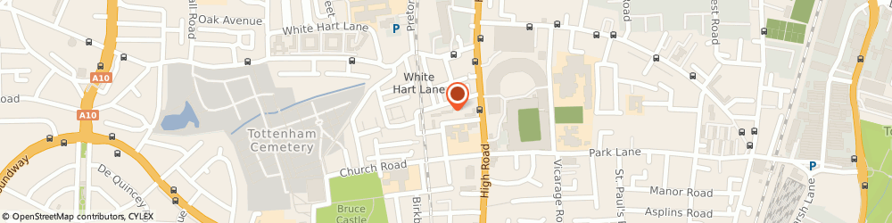 Route/map/directions to Whitehall & Tenterden Community Centre, N17 8BP London, 100 Whitehall Street