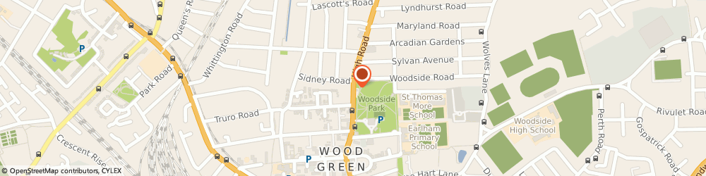 Route/map/directions to ANGEL, N22 8JA London, 383 High Rd