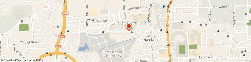 Route/map/directions to Locksmith Tottenham, N17 8NW London, 5-9 Creighton Rd