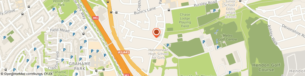 Route/map/directions to Ask Building Consultants Ltd, NW7 2EG London, 12 LONGFIELD AVENUE