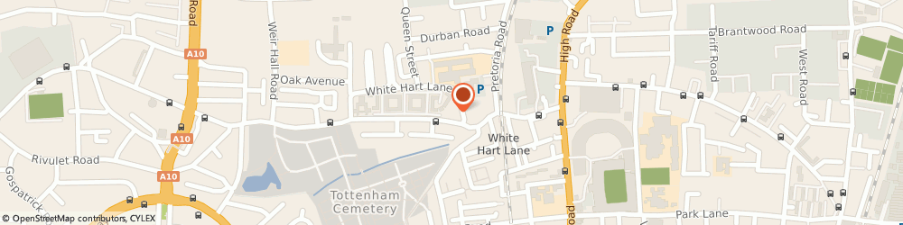 Route/map/directions to COMMUNITY PHARMACIES - Somerset Gardens Pharmacy, N17 8NW London, 4 Creighton Road