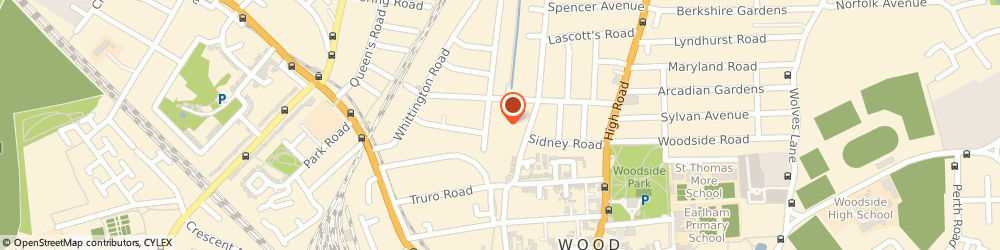 Route/map/directions to Airplay Leisure, N22 8YA London, 7 TRINITY COURT, TRINITY ROAD, WOODGREEN