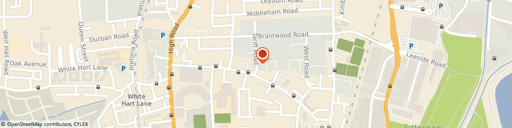 Route/map/directions to FicklestiX Impact Specialists, N17 0DY London, 11 Tariff Rd, United House