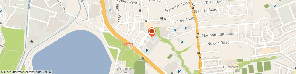 Route/map/directions to Alternative IT Solutions, E4 8TD London, Unit 1, Avocet House, Trinity Park, Trinity Way