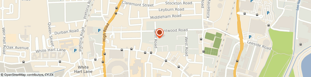 Route/map/directions to Suits All, N17 0YX London, UNIT 28/29 THE LAKE BUSINESS CENTRE, TARIFF ROAD