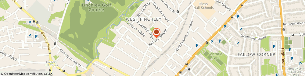 Route/map/directions to Fernbank, N3 1AB London, Finchley Way
