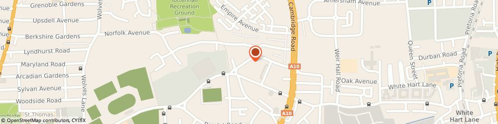 Route/map/directions to Morrisons Roofing & Guttering, N17 7ND London, 7 Devonshire Road