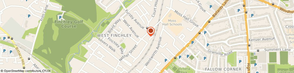 Route/map/directions to Finchley Locksmiths 020 8819 1885, N3 1NT London, 251-255 NETHER STREET