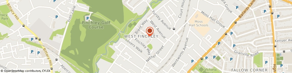 Route/map/directions to Anytime Locksmiths Finchley, N3 1AN London, Hamilton Way