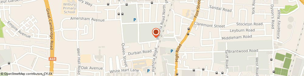 Route/map/directions to Select Fashion, N18 1SP London, 80-82 Pretoria Rd