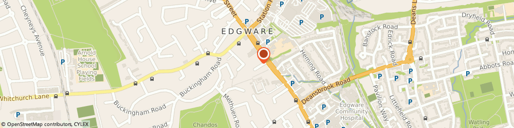 Route/map/directions to Altman Blane & Company, HA8 7LH Edgware, 29-45 High St