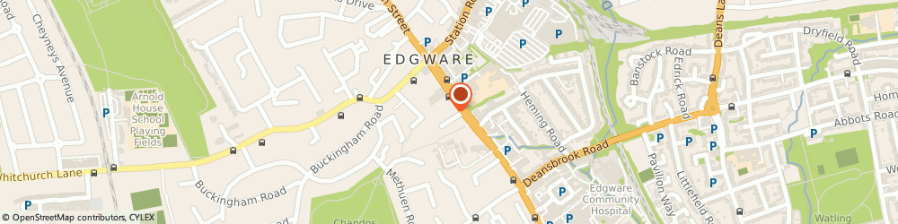 Route/map/directions to A N A Nursing Agency, HA8 7UU Edgware, Middlesex House, 29-45 High Street