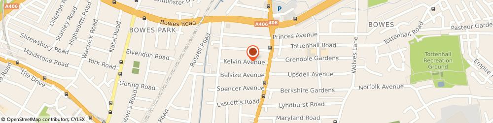 Route/map/directions to Video Invitations Online, N13 4TG London, Kelvin Avenue, ST House 38