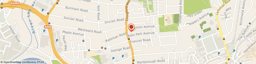 Route/map/directions to E4 Architectural Ironmongery Ltd, E4 9AA London, 64 CHINGFORD MOUNT ROAD