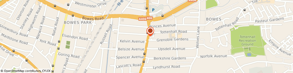 Route/map/directions to A S Opticians, N13 4TD London, 93 GREEN LANES
