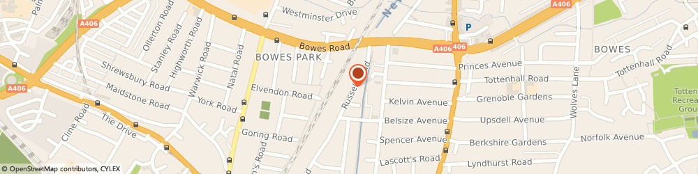 Route/map/directions to D & F Kitchen And Bathroom Renovation, N13 4RS London, Russell Road
