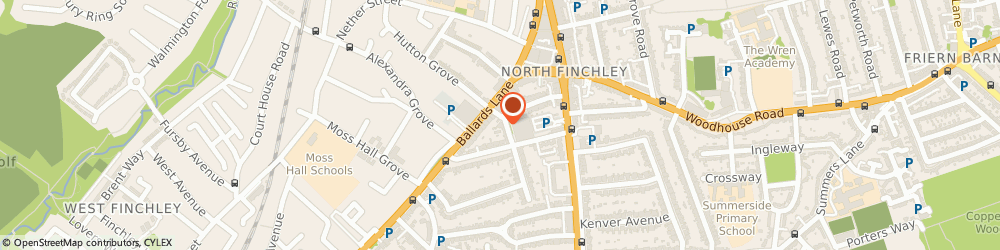 Route/map/directions to COSTA DECORATION LTD, N12 0DR London, Winnington House, 2 Woodberry Grove