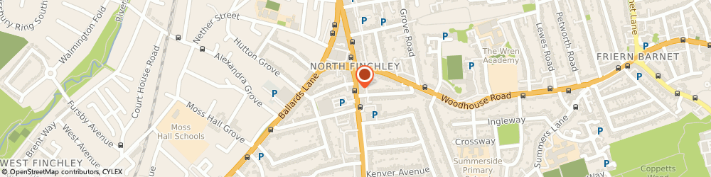 Route/map/directions to AV Enterprises, N12 0NL London, 642 HIGH RD