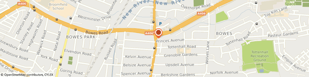 Route/map/directions to B & m Home Improvements, N13 4SP London, 149 Green Lanes