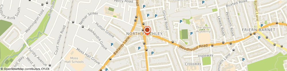 Route/map/directions to Miller Lock Ltd., N12 0DA London, High Road
