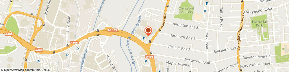 Route/map/directions to Decathlon Chingford, E4 8JA Chingford, Corktree Retail Park