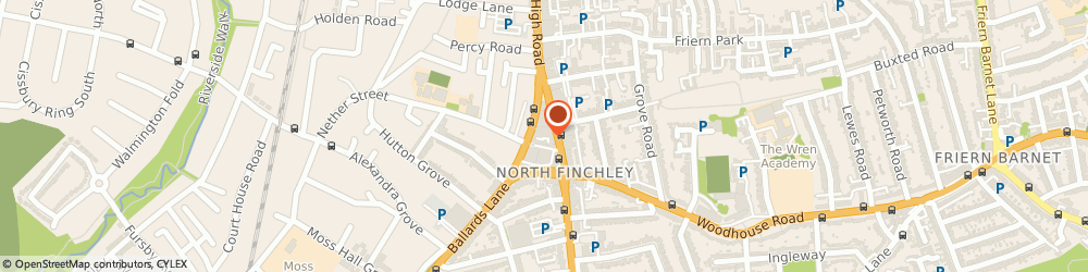 Route/map/directions to Ace Tones, N12 0EH London, 12 Grand Arcade