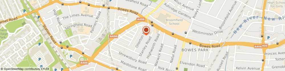 Route/map/directions to Furryfish.co.uk, N11 2JY London, 63 Ollerton Road