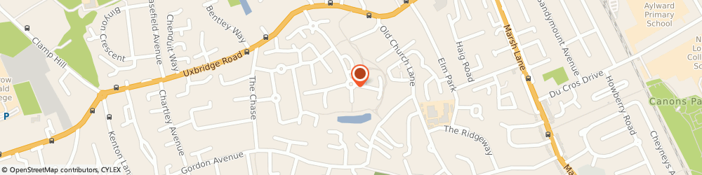 Route/map/directions to 104 EDITH GROVE LIMITED, HA7 4FH Stanmore, 64 Lady Aylesford Avenue
